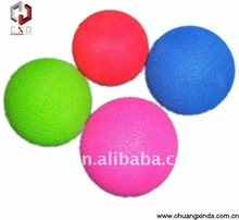PU foam stress ball/ promotional gift ball fluorescent toy ball