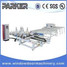 uPVC Profile Window Door Welding&Cleaning Processing Line/PVC Window Making Machine