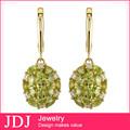 2014 venta al por mayor niza calidad de la joyería de piedras preciosas y más nuevo diseño barato oro pendientes de uva
