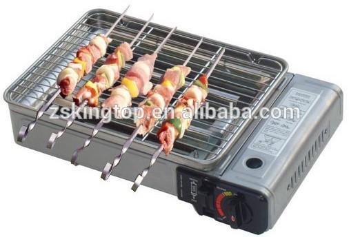 Mini barbecue camping portable cuisinière à gaz-Plaque de cuisine-Id ...