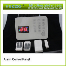 Auto Usage Advanced Touch Panel LCD Color Display IPHONE&ANDROID app Wireless GSM home alarm system