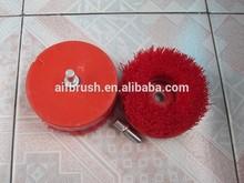 sofa,carpet ,kitchen , bathroom nylon wheel brush to clean