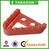 CNC Billet Parts KTM Orange Motorcycle Step Plate for KTM Brake Pedal Lever