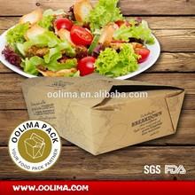 take away bento box,take away lunch box,packaging food box