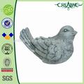 7 polegadas jardim decoração pássaro de resina figuras de