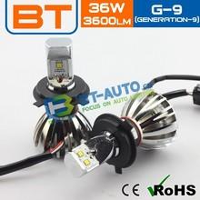 2015 Error Free LED Light 12v 35w Headlight For Daewoo Nubira