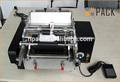 Semi- automática de cola hot melt rotulagem máquina