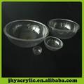 acrílico transparente globo de acrílico grande bola
