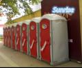 中国プラスチック移動式トイレ