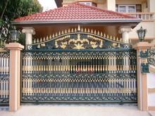 Luxury Court Yard Fence and Gates, House/Villa Garden Fence and Gates, Main gate and walk gate