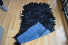 Sheepskin Tibet Animal Skin Cushion Plush Animal Skin