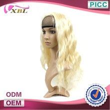 Fashion Style Super Wave Direct Factory Price Virgin Brazilian Blonde Human Hair Full Lace Wig