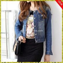 Women wear fashion denim blazer jacket , jean jacket pattern
