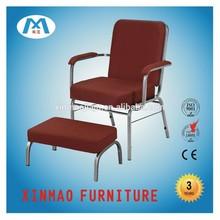 XM-C029 church chair , 2014 Stackable Church chair with handrail,connected church chair