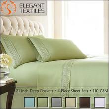 OEM Polyester Microfiber Bed Sheet