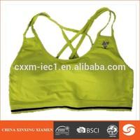 wholesale girl sport seamless hot sex women's sports bra xxx