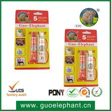 Guoelephant resina epossidica colla duro, chiaro, grave forza colla