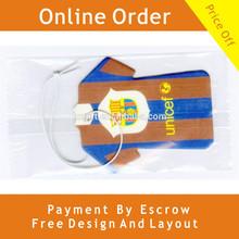 Paper Air Freshener For Promotion &Europe Popular Scent Car Air Freshener