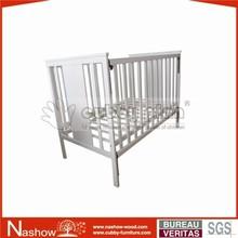 solid wood convertable nursery baby crib