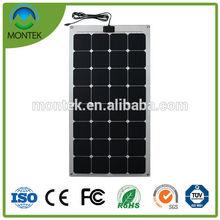 Low price newest flexible solar panel mono