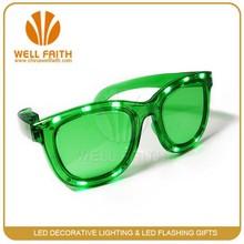LED electronic flashing sunglasses,LED New Year party lighted up sunglasses