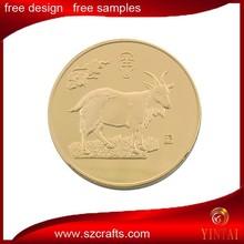 12 lunar new year gold coin