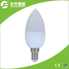best price smd 5730 led plastic candle light 3w e14