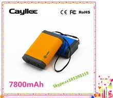 Mobile phone portable power charger with 7800mAh battery,oem li-ion power charger