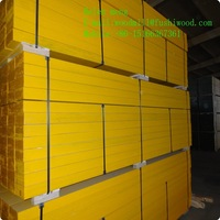 Yellow Painting LVL Beam for Construction