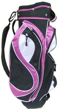 black and purple golf set for golf clubs