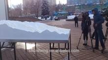 3D maquette 1/5000 scale KZ ski resort model