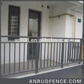 الفولاذ المقاوم للصدأ مغطى حديدي تصميم لبيت الدرج