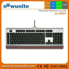 Top quality most popular wired gaming keyboard French alibaba