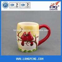 3D Christmas Ceramic Dolomite Mug