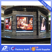 5mm Pixels and Full Color Tube Chip Color fixed led display screen p10 p8 p6