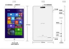 original 8.0'' IPS 1280*800 ONDA V820W Intel Z3735F Quad Core Win8.1 tablets pc 2GB RAM 16GB ROM two camera BT4.0 4200mAh