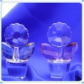 Simples barato cristal girassol vasos de para presentes de natal