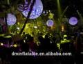 Iluminação decoração do partido inflável / iluminado bolas infláveis / inflável levou balão