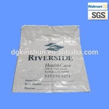 Disposable plastic drawstring packaging bag plastic dry clean bag