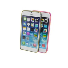 Wholesale cheapest price aluminum bumper mobile phone cover for iPhone 6