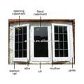 calidad suprema de la ventana moderno diseño de la parrilla mejores tipos de ventanas