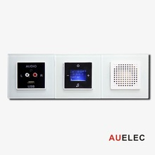 Background Music System Home Audio with Intercom Hi-fi Wall Mounting