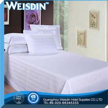 printed 5 star 100% cotton hospital stripe flat sheet/ bed sheet
