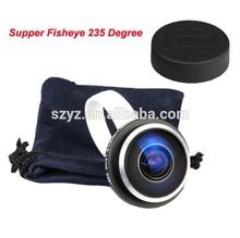 360 degree fisheye lens projector, 235 degree super fisheye camera lens