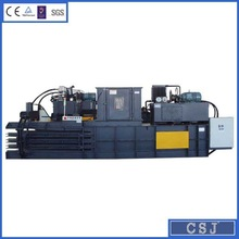 Hot selling horizontal waste paper baler hydraulic carton compactor (factory price)