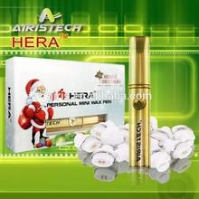 Airistech Golden vaporizer AS1 wholesale wax vaporizer pen with ceramic atomizer