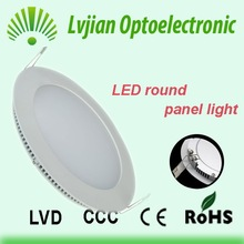 New design 7w Super Slim Round LED Panel Lamp