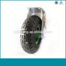 Alibaba China Fixed Rubber Hardware Caster Wheel