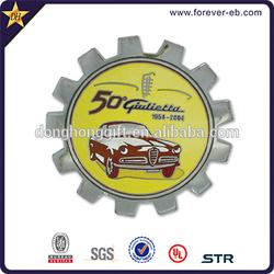 Luxury car badge emblem