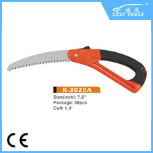 stainless steel superior type 180mm folding saw K 3020A